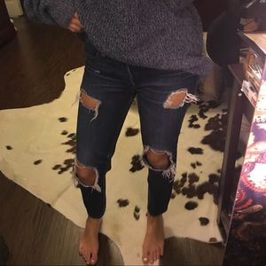Lucky Brand Distressed Jeans